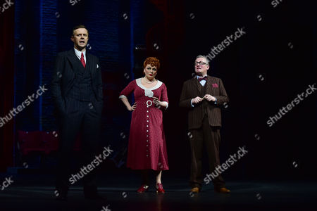 Stock Image of Tom Lister (Julian Marsh), Jasna Ivir (Maggie Jones) and Christopher Howell (Bert Barry)