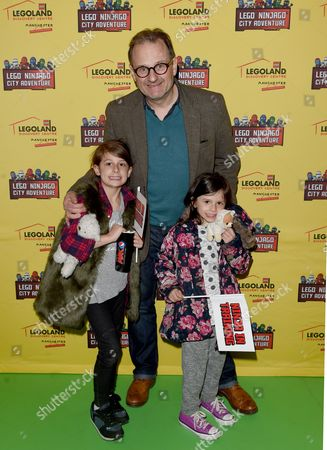 DJ Mark Radcliffe and daughters