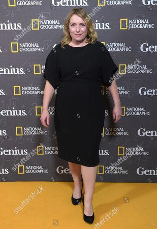 Editorial picture of 'Genius' film premiere, Cineworld Haymarket, London, UK - 30 Mar 2017