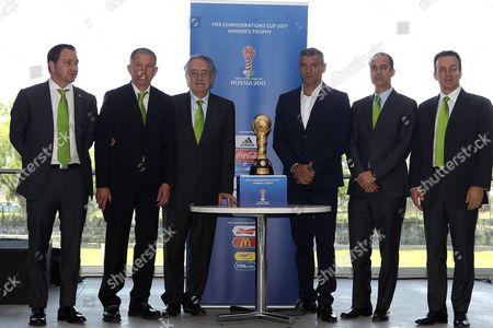 Editorial image of Presentation of the Confederations Cup trophy, Toluca, Mexico - 30 Mar 2017