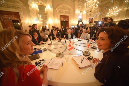 Editorial picture of G7 Ministerial Meeting On Culture. Florence. Italy - 30 Mar 2017