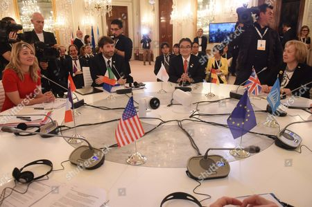 Editorial image of G7 Ministerial Meeting On Culture. Florence. Italy - 30 Mar 2017