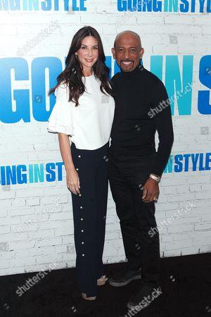 Stock Photo of Tara Fowler and Montel Williams