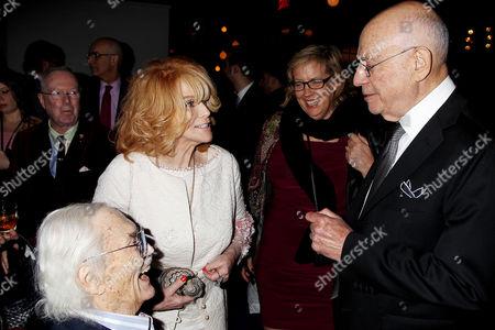 Roger Smith, Ann-Margret and Alan Arkin