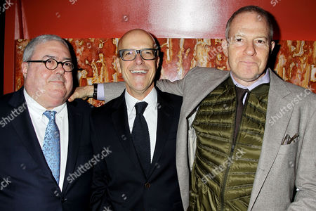 Bruce Berman, Donald de Line and Toby Emmerich