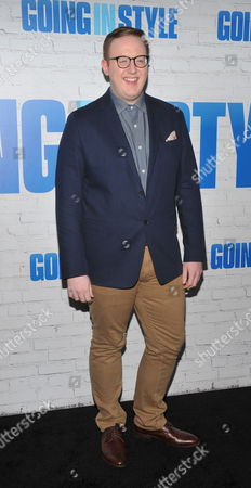 Editorial image of 'Going In Style' film premiere, Arrivals, New York - 30 Mar 2017