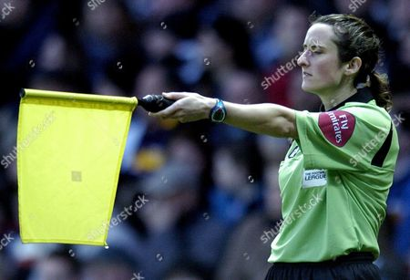 Stock Picture of Referees Assistant Amy Rayner