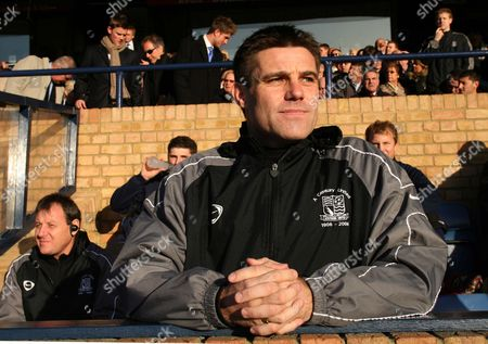 Steve Tilson the manager of Southend United