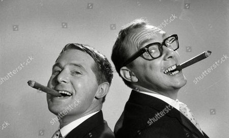 Unseen picture shows from the ITV archive: Eric Morecambe (as Eric Simpson) and Ernie Wise (as Ernest Clark) from the film 'That Riviera Touch' (1966) - the second feature-length film made by the comedy duo Morecambe and Wise. Two British jokers (Eric Morecambe, Ernie Wise) go on vacation and get mixed up with crooks plotting a jewel heist on the Cote d'Azur.