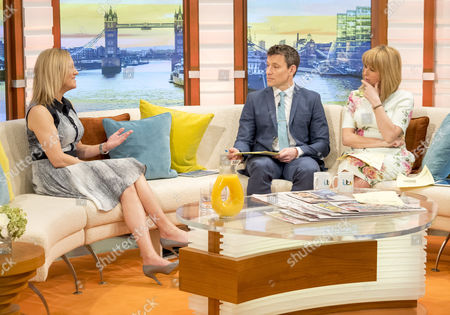 Stock Image of Stephanie Hirst with Ben Shephard and Kate Garraway