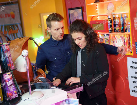 In the tanning salon, Nathan, as played by Christopher Harper, might tears a strip off Mel, as played by Sonia Ibrahim, for winding Bethany up. (Ep 9138 - Fri 7 April 2017)