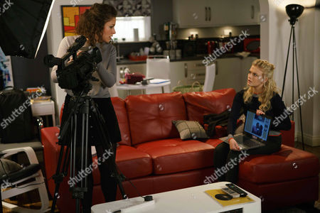 Nathan suggests Bethany Platt, as played by Lucy Fallon, should record a new vlog with Mel, as played by Sonia Ibrahim, but when she comes across a picture of Nathan kissing Mel on Mel's laptop, she's furious. (Ep 9137 - Fri 7 April 2017)