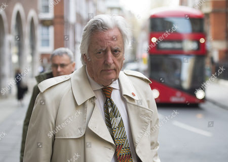 Michael Mansfield QC arriving at Church House for a Labour Party disciplinary hearing on charges of anti-Semitism against Ken Livingstone.