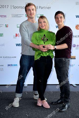 Anna Maria Muehe, Albrecht Schuch and Sebastian Urzendowsky