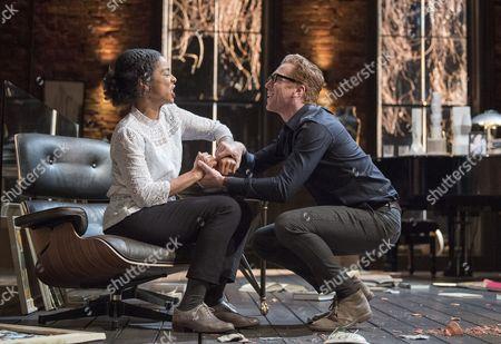 Damian Lewis as Martin, Sophie Okonedo as Stevie