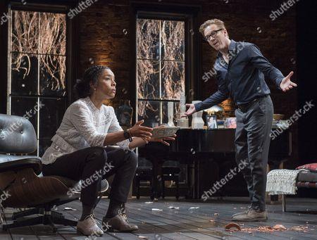 Stock Photo of Damian Lewis as Martin, Sophie Okonedo as Stevie