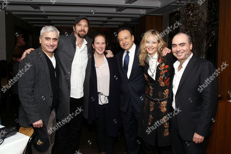 "Editorial image of NYC screening of ""God Knows Where I Am"" - After Party, New York, USA - 31 Mar 2017"