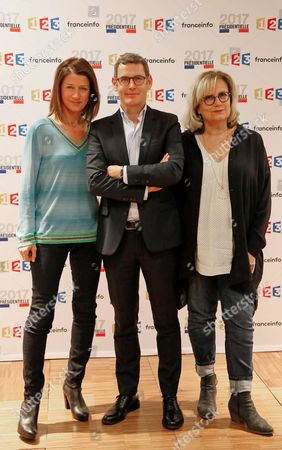 Carole Gaessler, Francis Letellier and Catherine Matausch