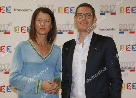 Carole Gaessler and Francis Letellier