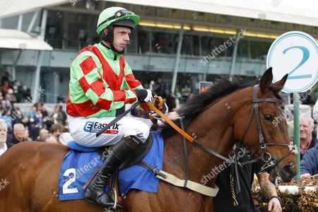 Alain Cawley on his first ride back from injury at Stratford and with David Mark Loughnane.