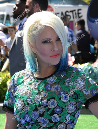 Editorial image of 'Smurfs: The Lost Village' film premiere, Arrivals, Los Angeles, USA - 01 Apr 2017