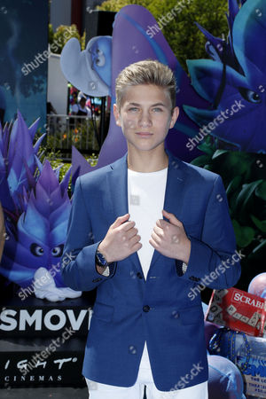 Editorial image of Smurfs The Lost Village premiere arrivals, Culver City, USA - 01 Apr 2017
