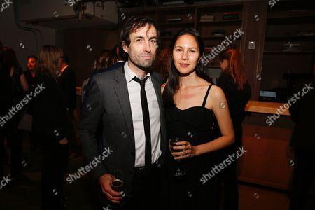 Andrew Bird and Katherine Tsina