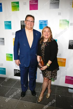 Andy Richter and Sarah Thyre