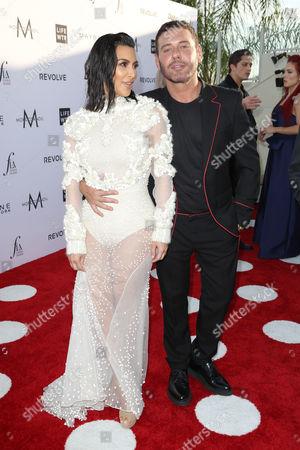 Kim Kardashian West and Mert Alas