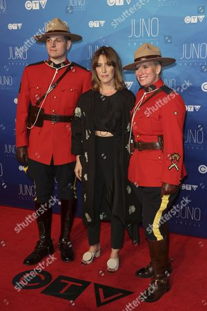Editorial image of JUNO Awards, Arrivals, Ottawa, Canada - 02 Apr 2017