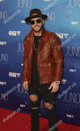 Editorial photo of JUNO Awards, Arrivals, Ottawa, Canada - 02 Apr 2017