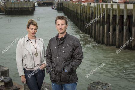 Sarah Parish as Cath and Mark Bazeley as Jim