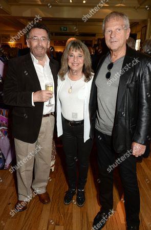 Robert Powell, Suzi Quatro and Rainer Haas