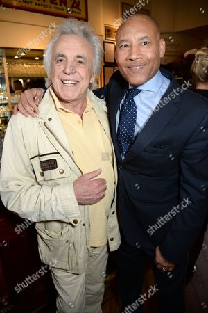 Peter Stringfellow with guest