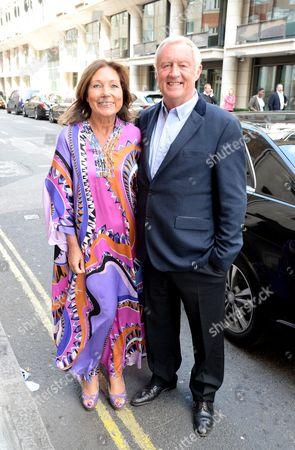 Jane Bird and Chris Tarrant