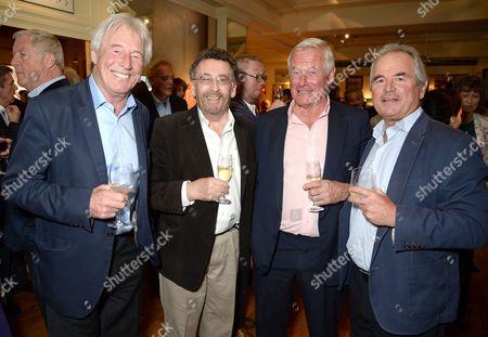 Bill Wiggins, Robert Powell, guest and Alan Lamb