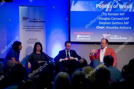 Liz Kendall MP, Stephen Gethins MP and Douglas Carswell MP
