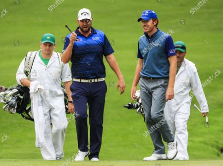 Marc Leishman and Roberto Castro