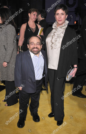 Stock Image of Danny Woodburn and wife Amy Buchwald