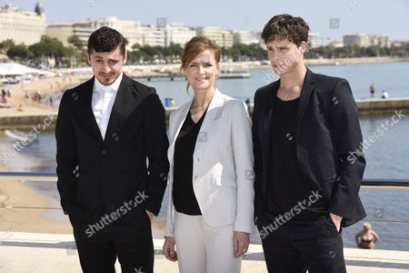 Marie Richardson, Adam Palsson and Alexej Manvelov