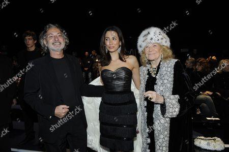 Marco Glaviano, Maria Buccellati and Marta Marzotto