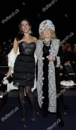 Maria Buccellati and Marta Marzotto