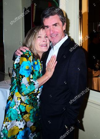 Penny Smith and John Stapleton