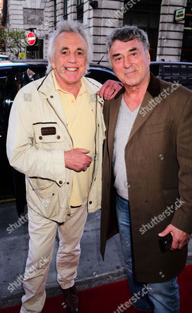 Peter Stringfellow and Billy Murray