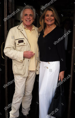 Peter Stringfellow and Jilly Johnson