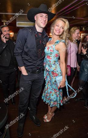 Stock Photo of Luke Gilford and Pamela Anderson