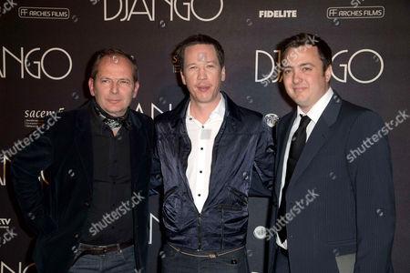Editorial picture of 'Django' film premiere, Paris, France - 03 Apr 2017