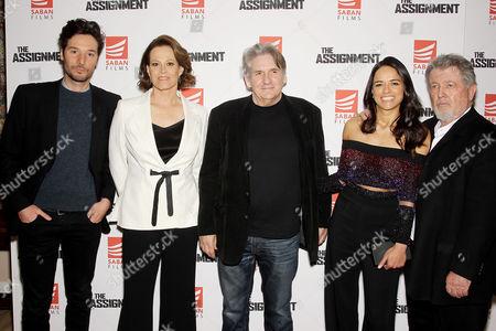 Jonathan Saba (Vice Pres. Sales and Distribution Saban Films), Sigourney Weaver, Denis Hamill, Michelle Rodriguez, Walter Hill (Writer, Director)