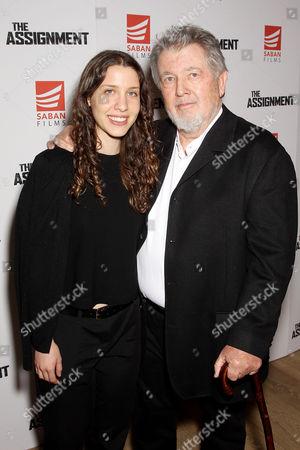 Walter Hill (Writer, Director) with Daughter Miranda