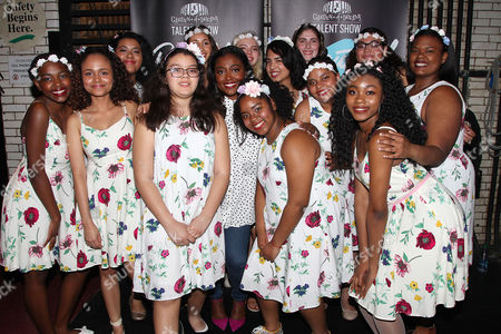 Patina Miller with Garden of Dreams Kids